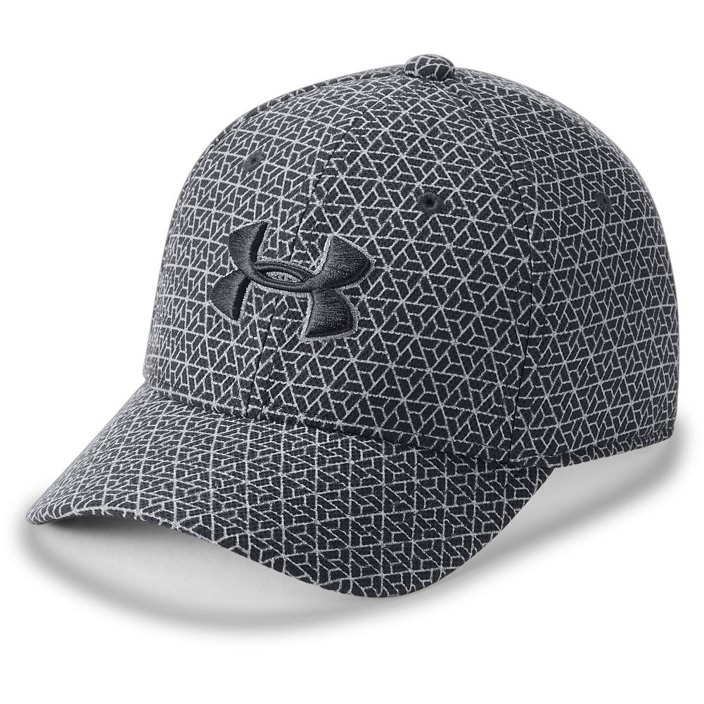 Under Armour Boys  Printed Blitzing 3.0 Cap ANTHRACITE OVERCAST GRAY BLACK  ... eeb6a8ad53ca