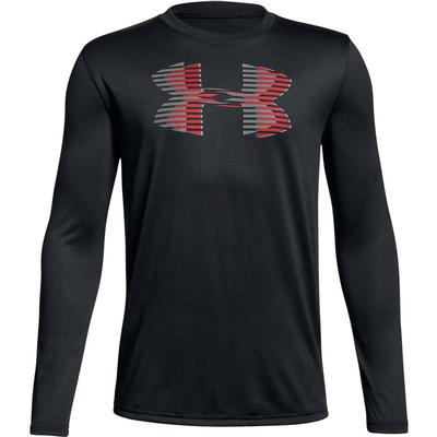 Under Armour Tech Big Logo Long Sleeve Shirt Boys'
