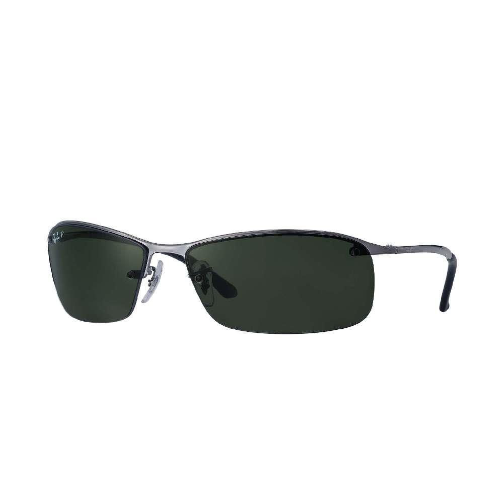 841185d33a1 Rayban RB3183 Sunglasses GUNMETAL POLARIZED GREEN CLASSIC G-15 ...