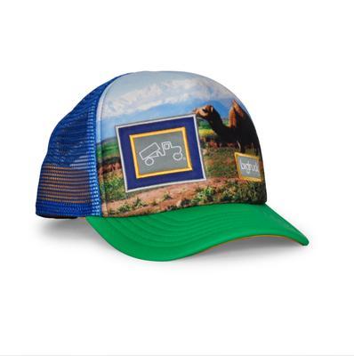 bigtruck Original Sublimated Hat Kids' Camel Green