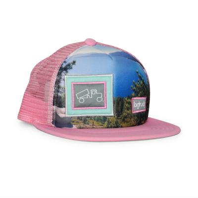 bigtruck Original Sublimated Hat Lake View Pink