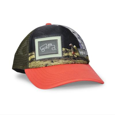 bigtruck Original Low Profile Sublimated Hat Women's Nepali Coast Salmon