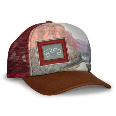 bigtruck Original Sublimated Hat Grand Canyon Brown