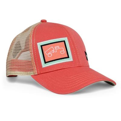 bigtruck Classic Outdoor Hat Salmon/Khaki