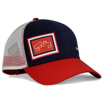 bigtruck Classic Outdoor Hat Navy/Red/White