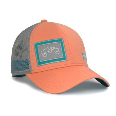 bigtruck Classic Outdoor Hat Peach/Grey
