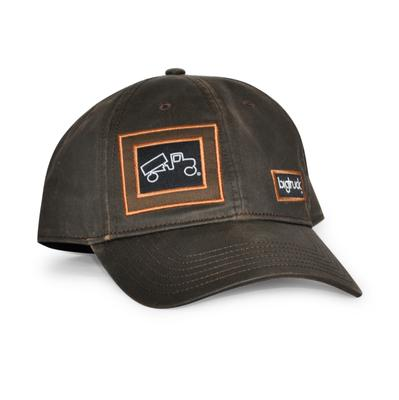 bigtruck Cap Waxed Hat Brown
