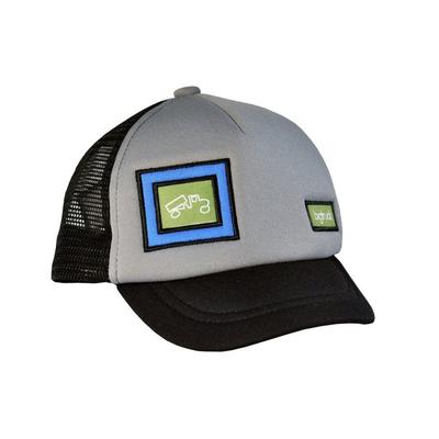 bigtruck Grey/Black Hat Kids' Grey/Black