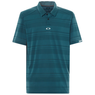 Oakley Aero Stripe Jacquard Polo Men's