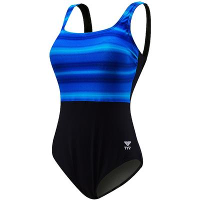 TYR Fitness Tramonto Scoop Neck Controlfit Swimsuit Women's