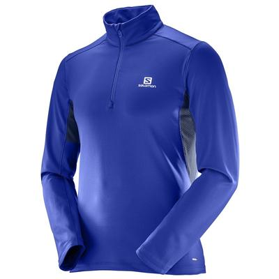 Salomon Agile Warm Half Zip Mid Mens