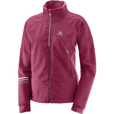 SALOMON W LIGHTNING WARM SOFTSHELL JKT