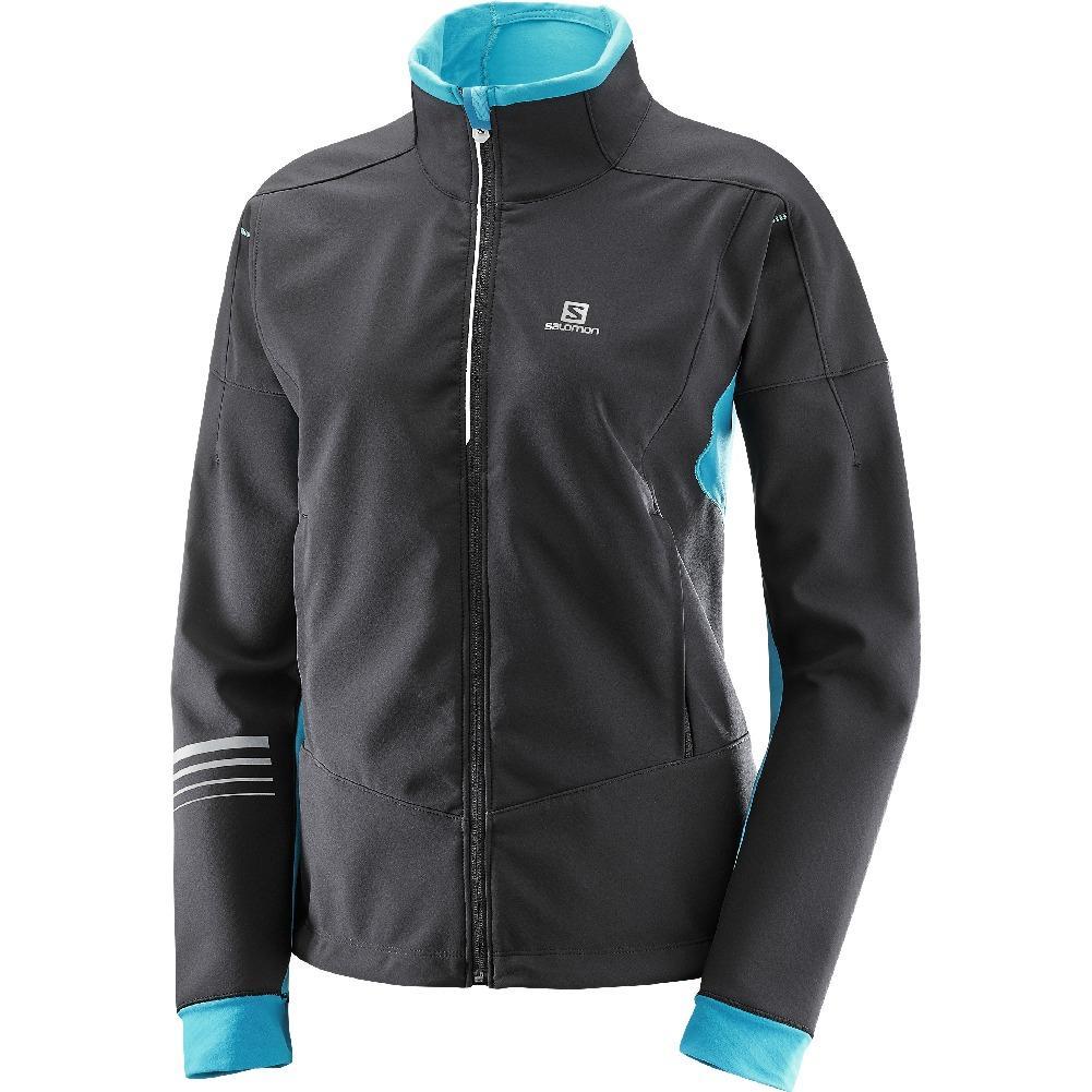 Lighting Jacket: Salomon Lightning Warm Softshell Jacket Women's