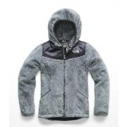 The North Face Oso Hoodie Girls' MID GREY/PERISCOPE GREY STRIPE