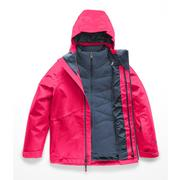 The North Face Fresh Tracks Triclimate Jacket Girls' ATOMIC PINK