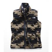 The North Face Campshire Vest Women's WEIMARANER BROWN CALIFORNIA BASKET PRINT