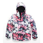 The North Face Brianna Insulated Jacket Girls' ATOMIC PINK DIGI FLORAL PRINT