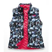 The North Face ThermoBall Vest Women's MULTI GLITCH PRINT