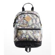 The North Face Youth Mini Mini Berkeley Backpack MEDIEVAL GREY WOODLAND FLORAL PRINT/MID GREY