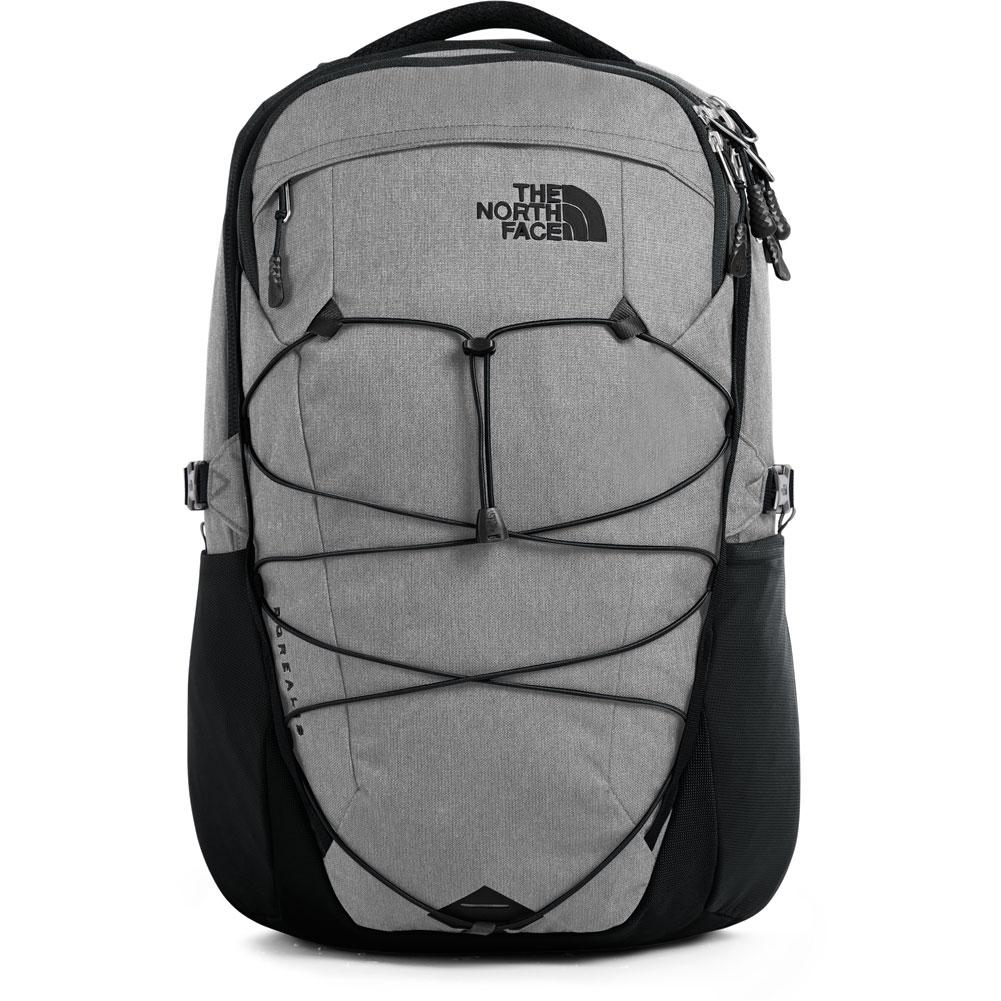 The North Face Men/'s Borealis TNF Black Light Directional Heather//TNF Red NEW