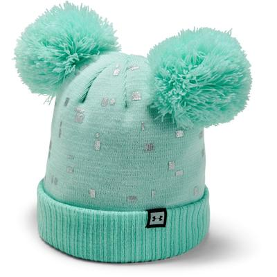 Under Armour Double Pom Beanie Girls'