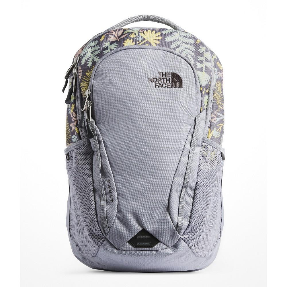 2749c0438 The North Face Vault Backpack Women's MID GREY WOODLAND FLORAL PRINT/MID  GREY