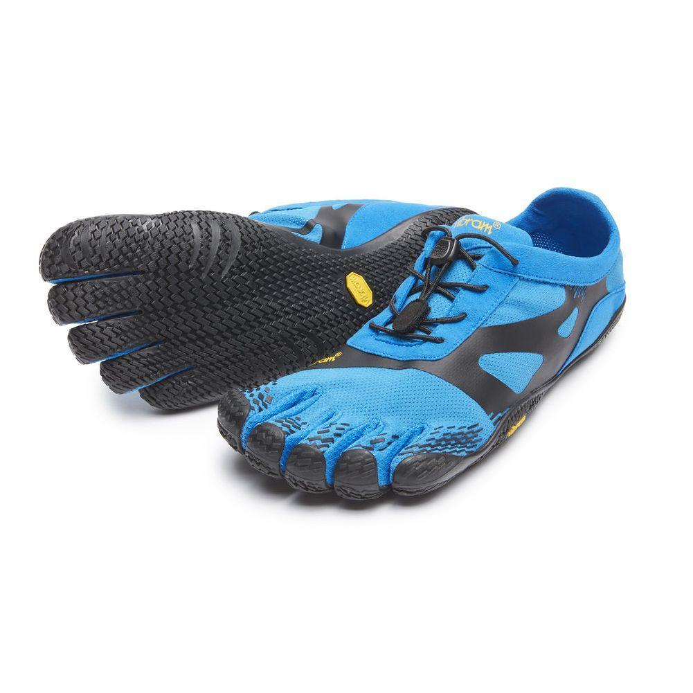 Vibram Kso Evo Five Fingers Shoes Men's - Blue/Black Blue/Black