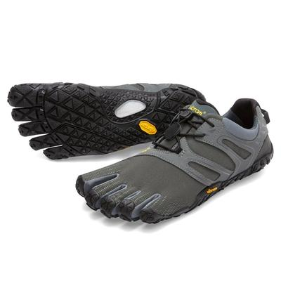 Vibram V-Trail Five Fingers Shoes Men's - Grey/Black/Orange