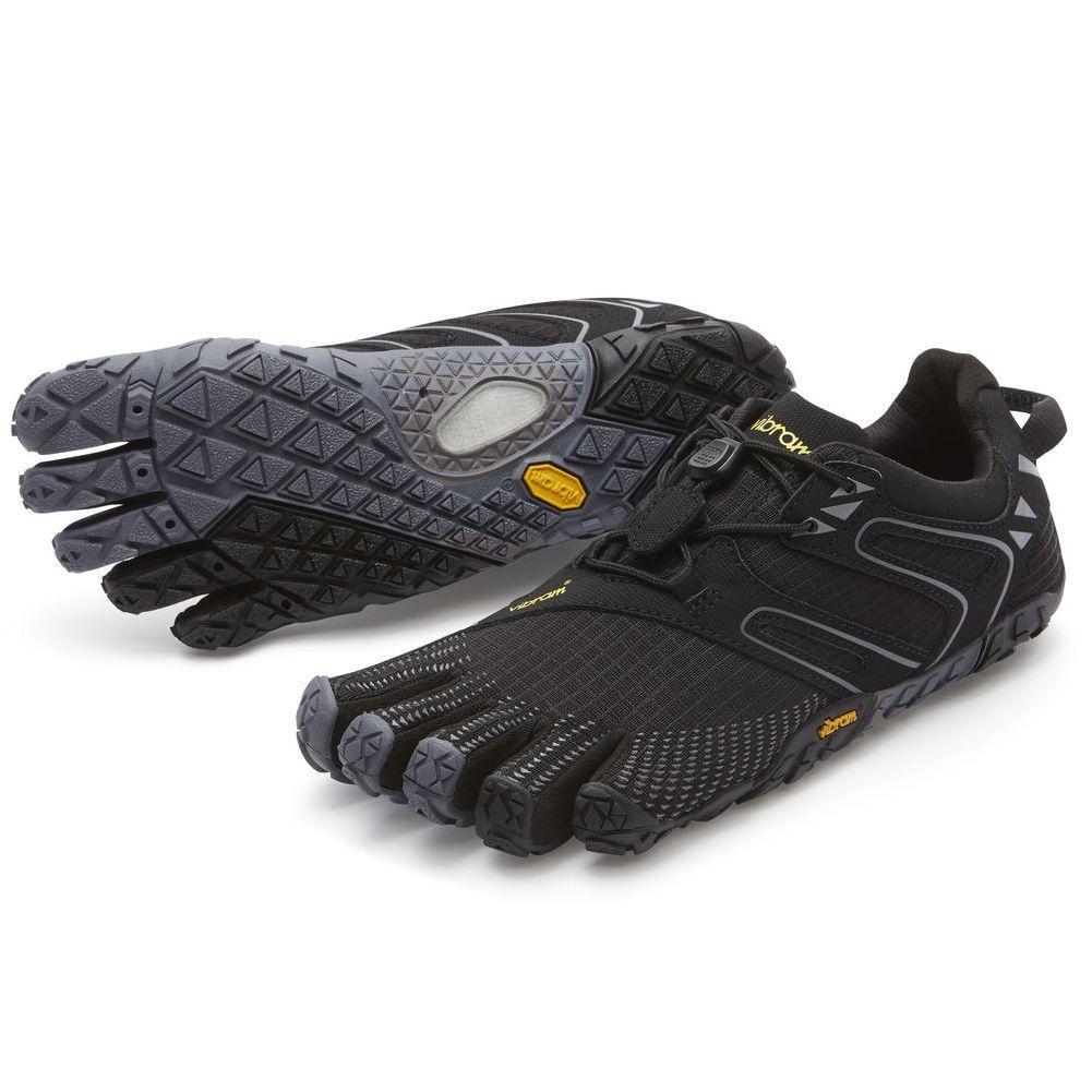 Vibram V- Trail Five Fingers Shoes Women's - Black/Grey