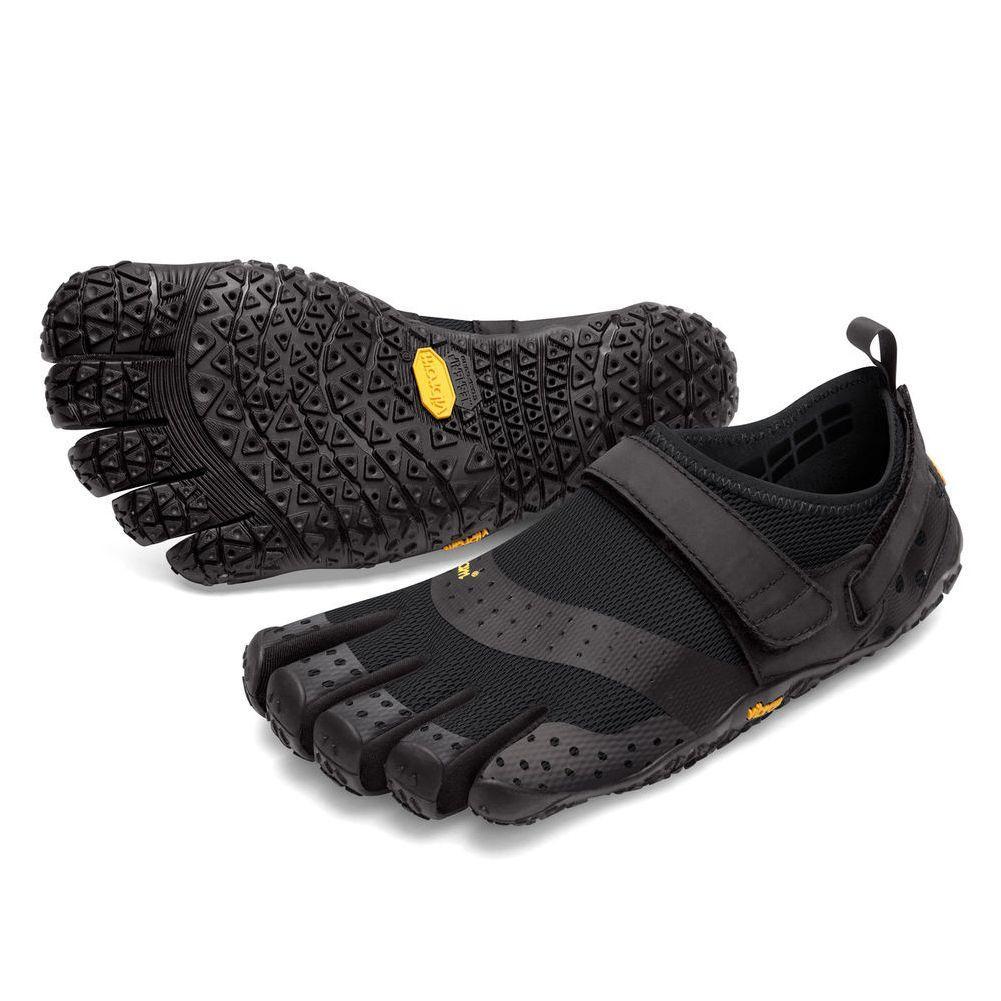 Vibram V-Aqua Five Fingers Shoes Men's - Black BLACK