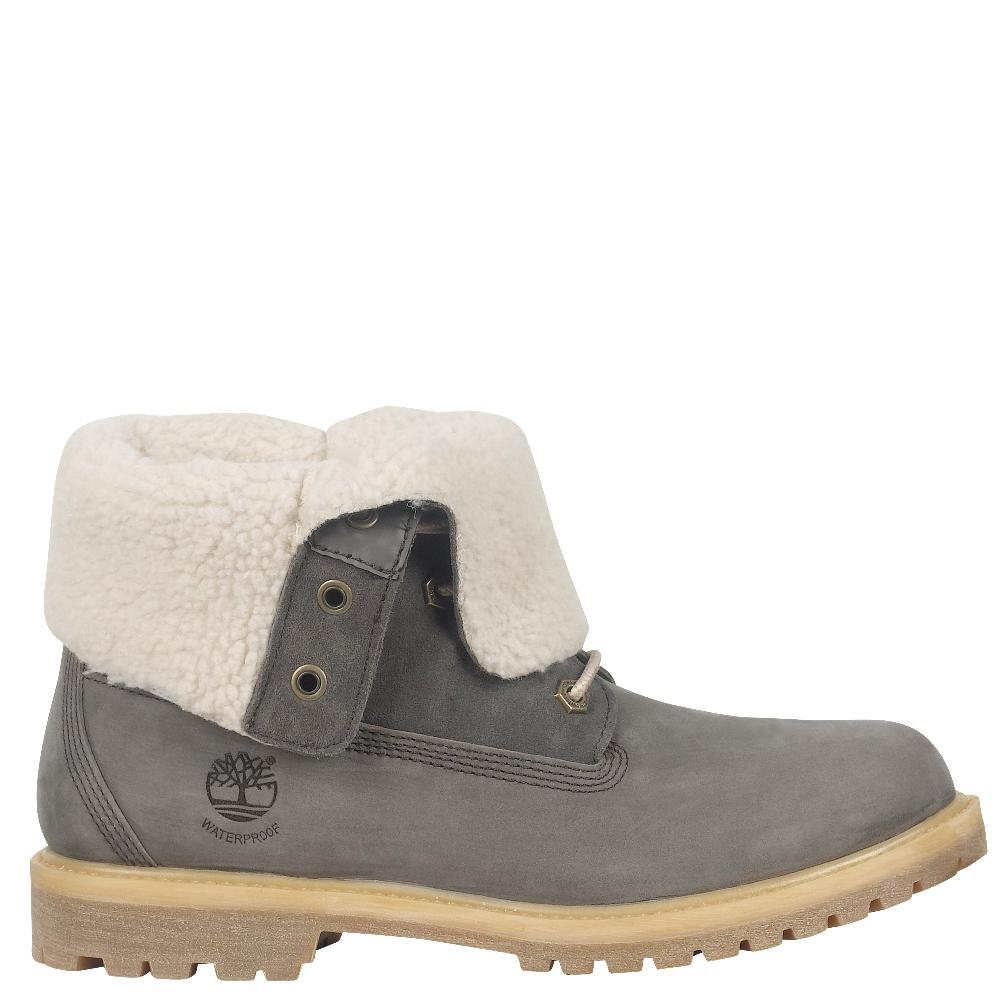 095c31a1c70 Timberland Authentic Teddy Fleece Waterproof Fold-Down Boots Women's