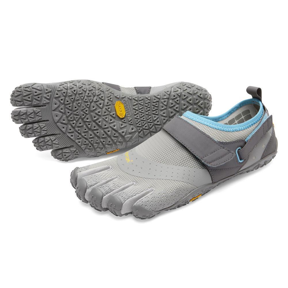 Vibram V- Aqua Five Fingers Shoes Women's - Grey/Blue
