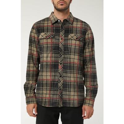 O`Neill Glacier Plaid Long Sleeve Shirt Men's