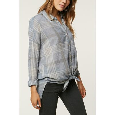 O`Neill Arlow Plaid Long Sleeve Shirt Women's