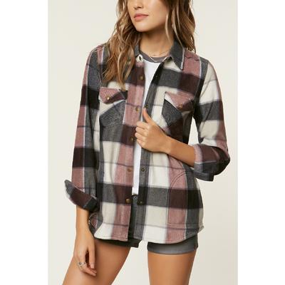 O`Neill Zuma Superfleece Flannel Shirt Women's