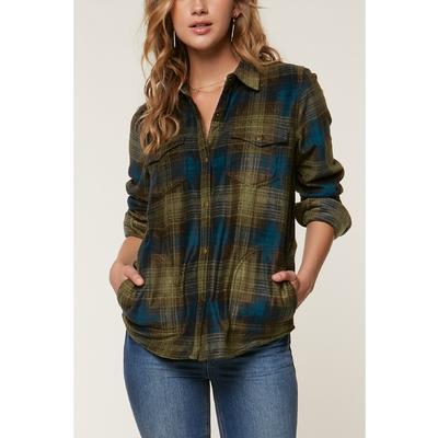 O`Neill Zuma Superfleece Flannel Shirt Women's