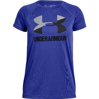 Under Armour Big Logo Solid Short Sleeve Tee Girls'