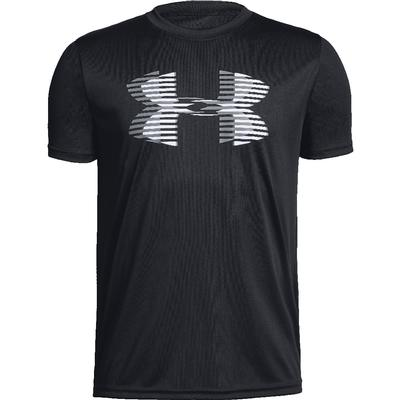 Under Armour Tech Big Logo Solid Short Sleeve T-Shirt Boys'