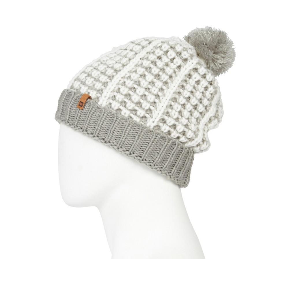39869a85552 686 Bella Knit Pom Beanie Women s Grey ...