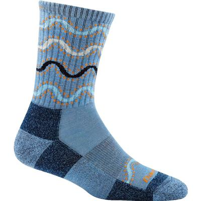 Darn Tough Vermont Wandering Stripe MicroCrew Lt Cushion Socks Women's