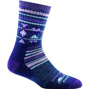 Darn Tough Vermont Nobo Micro Crew Cushion Socks Women's PURPLE