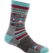 Darn Tough Vermont Nobo Micro Crew Cushion Socks Women's TEAL