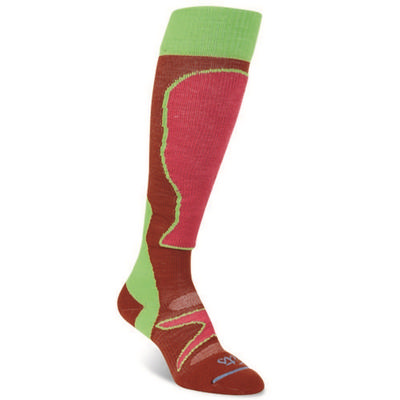 Fit Socks Light Ski Over The Calf Socks Women's