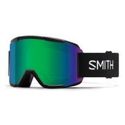 Smith Squad Goggles Men's BLACK/GREEN SOL-X MIRROR + YELLOW