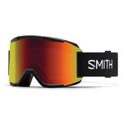 Smith Squad Goggles Men's BLACK/RED SOL-X MIRROR + YELLOW