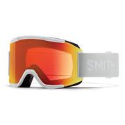 Smith Squad Goggles Men's WHITE VAPOR/CP EVERYDAY RED MIRROR + YELLOW
