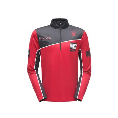 Spyder Limitless Wengen Zip T-Neck Men's