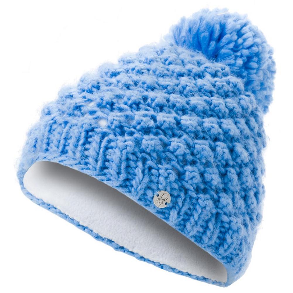 7c126f92a95 Spyder Brrr Berry Hat Girls  Blue Ice White ...