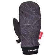 Armada Carmel Windstopper Mitts Men's Black Banana Leaf