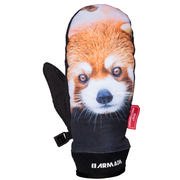 Armada Carmel Windstopper Mitts Men's Red Panda